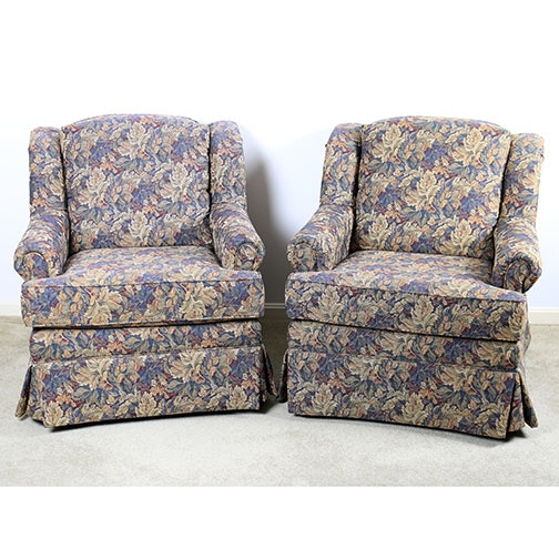 Pair of Lancer Upholstered Armchairs