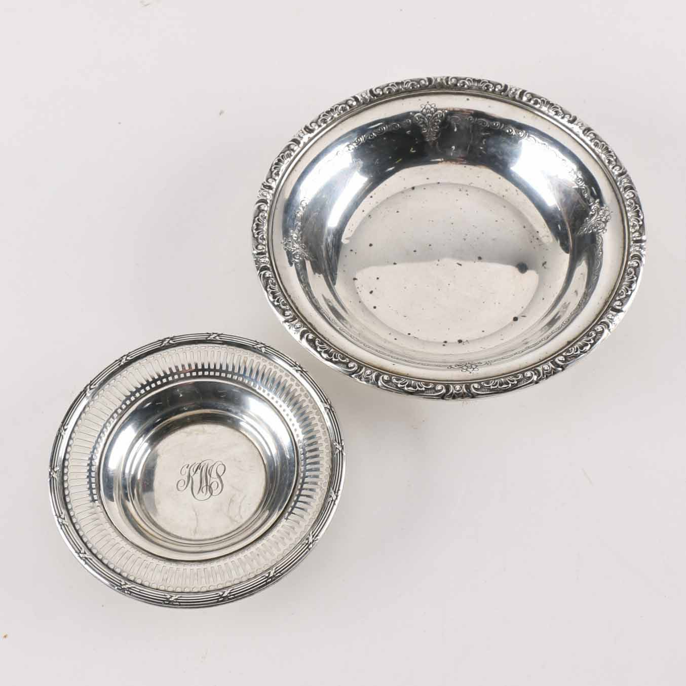 Towle and Watson Sterling Silver Bowls
