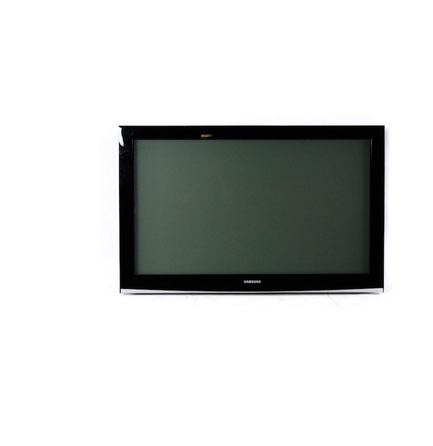 samsung flat screen television ebth. Black Bedroom Furniture Sets. Home Design Ideas