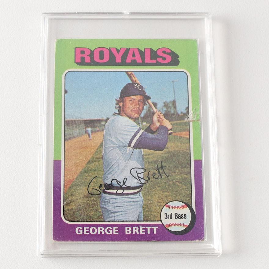 1975 Topps George Brett Baseball Card
