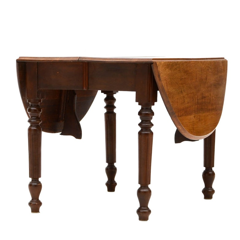 Wooden Drop Leaf Table Attwell