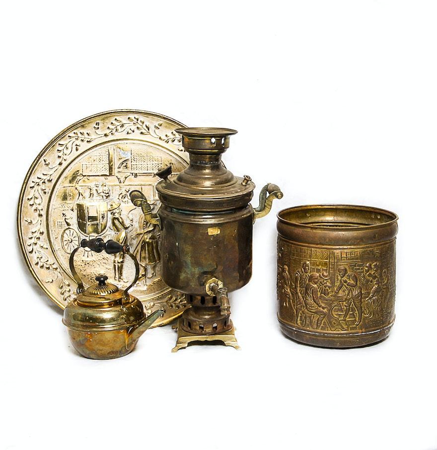 Brass decorative items ebth