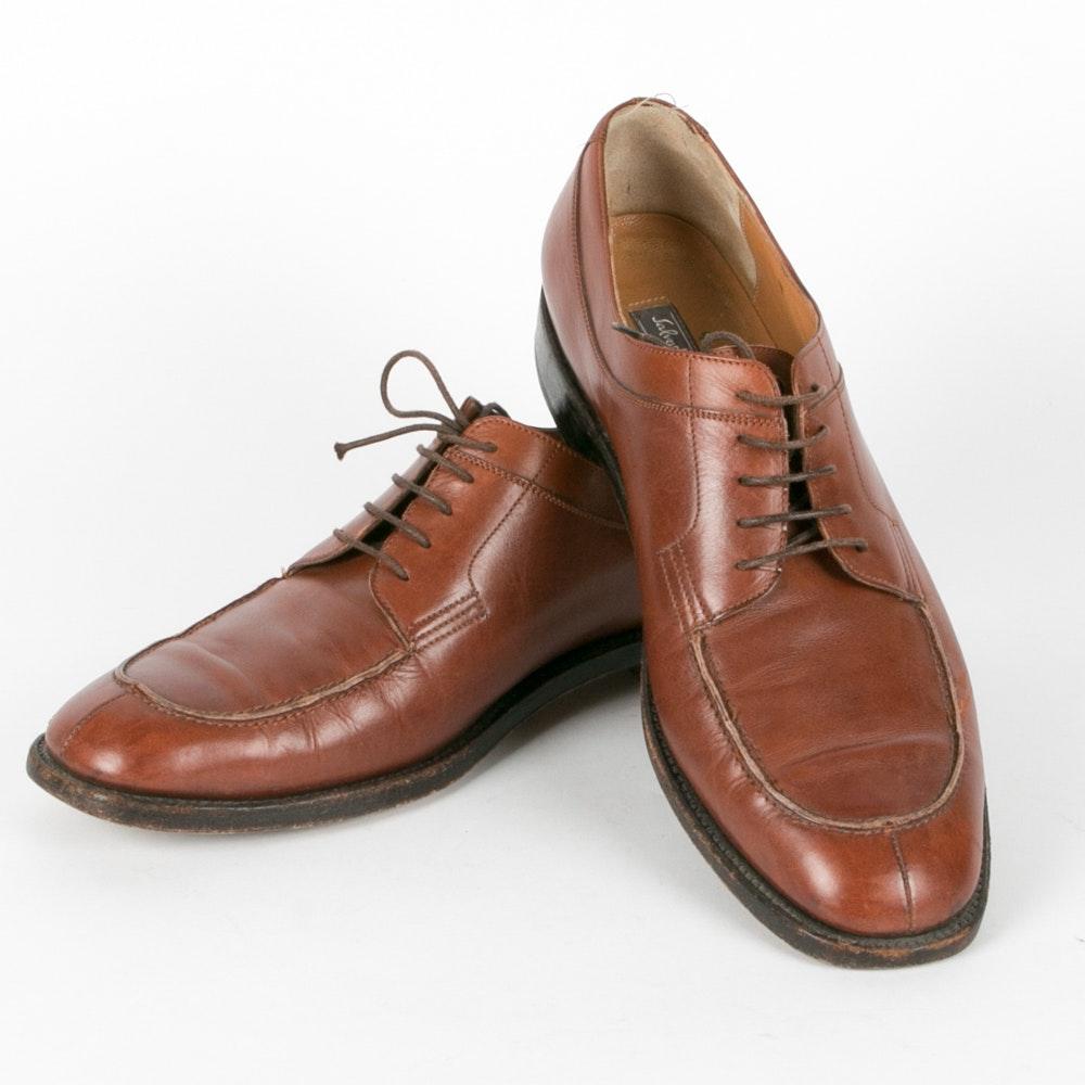 s salvatore ferragamo italian leather dress shoes ebth
