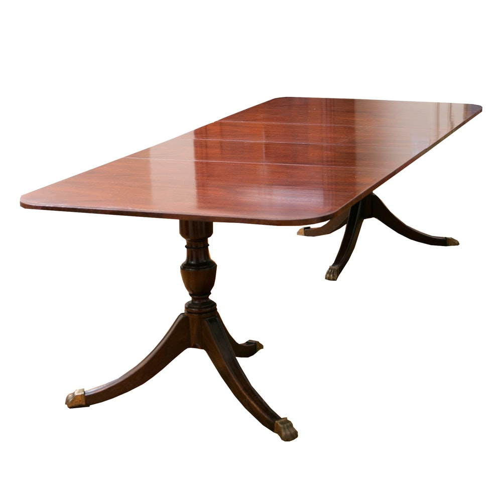 Baker Furniture Duncan Phyfe Style Mahogany Dining Table  : 16bos0001Chelsie 603jpgixlibrb 11 from www.ebth.com size 1000 x 1000 jpeg 62kB