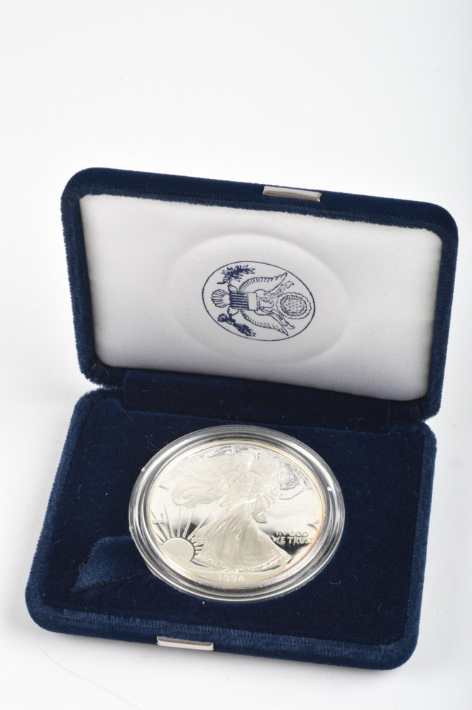 1 Troy Ounce Silver 999 Coin Liberty