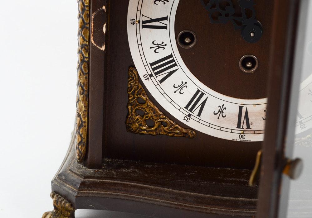 Franz hermle mantel clock 340 020a