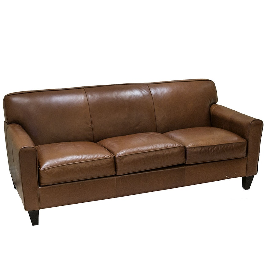 Bauhaus Faux Leather Sofa
