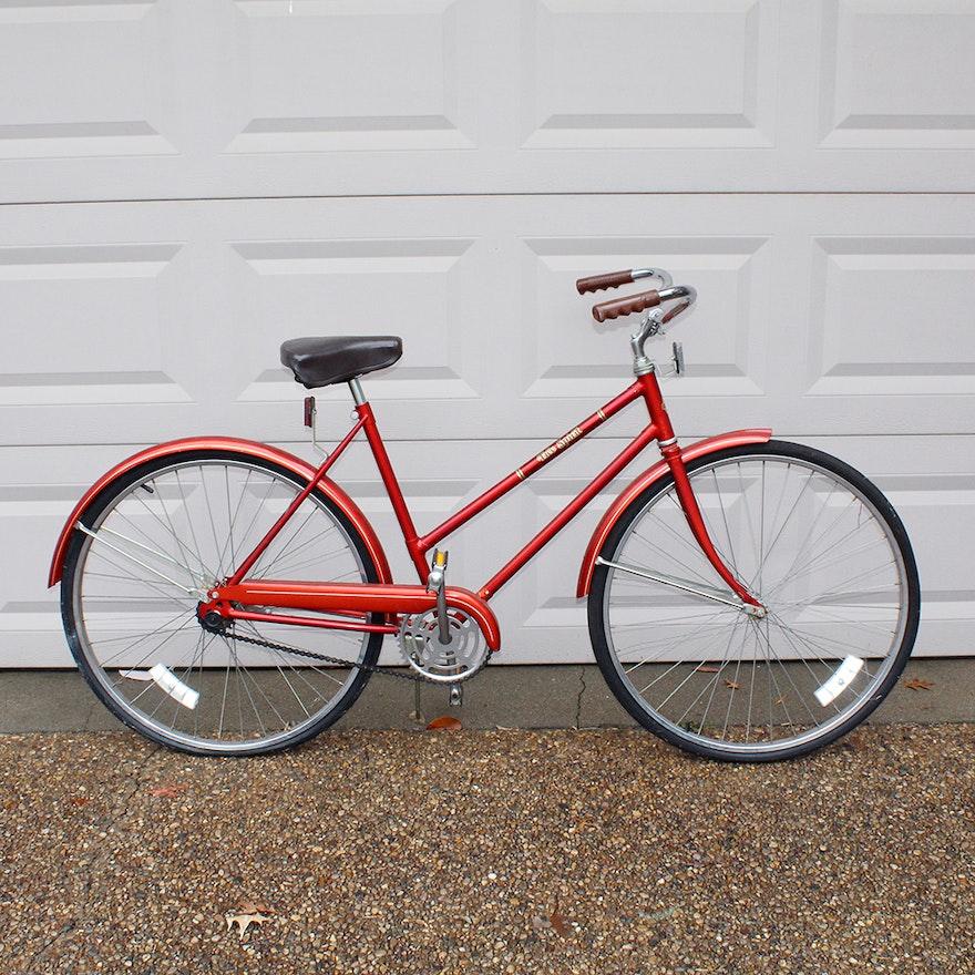 Vintage Free Spirit Single Speed Cruiser Bicycle Ebth