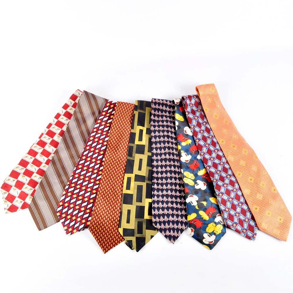 Men's Silk Necktie Assortment