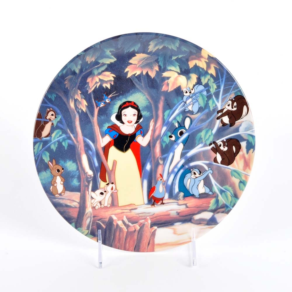 Disney Limited Edition Snow White Plate