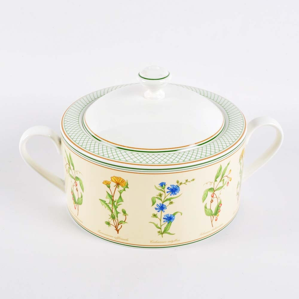 "Villeroy and Boch ""Eden"" Covered Vegetable Bowl"