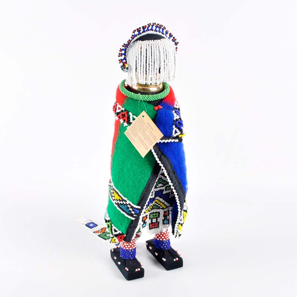 Handmade Ndebele Bride Statue