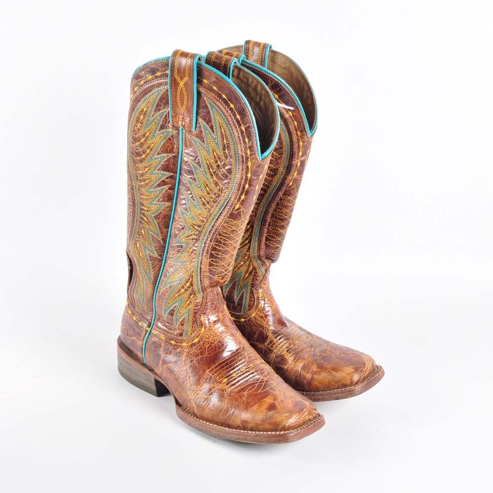 Women's Ariat Vaquera Cowboy Boots, Size 6.5