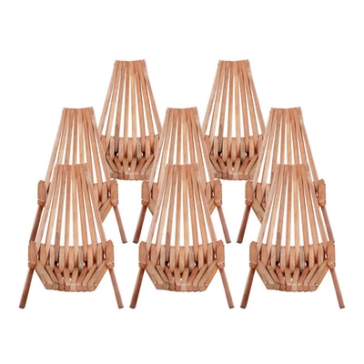 Vifah Outdoor Folding Garden Chair in Hardwood