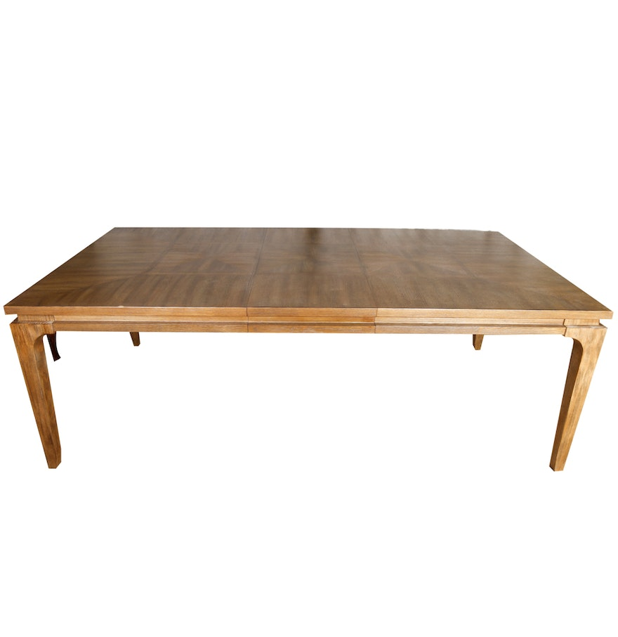 A r t furniture ventura oak dining table ebth for A r t dining table