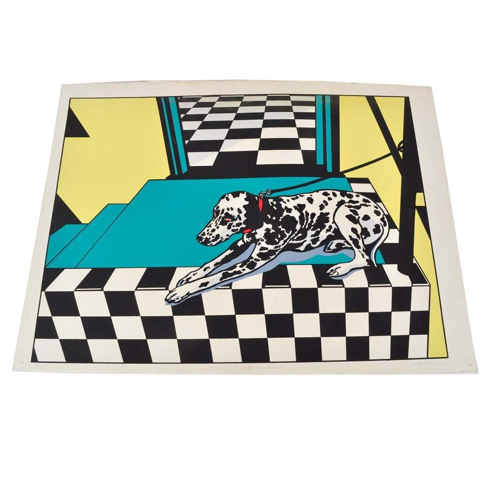 "Lisa Yuan Signed Artist Proof ""The Dalmatian"""