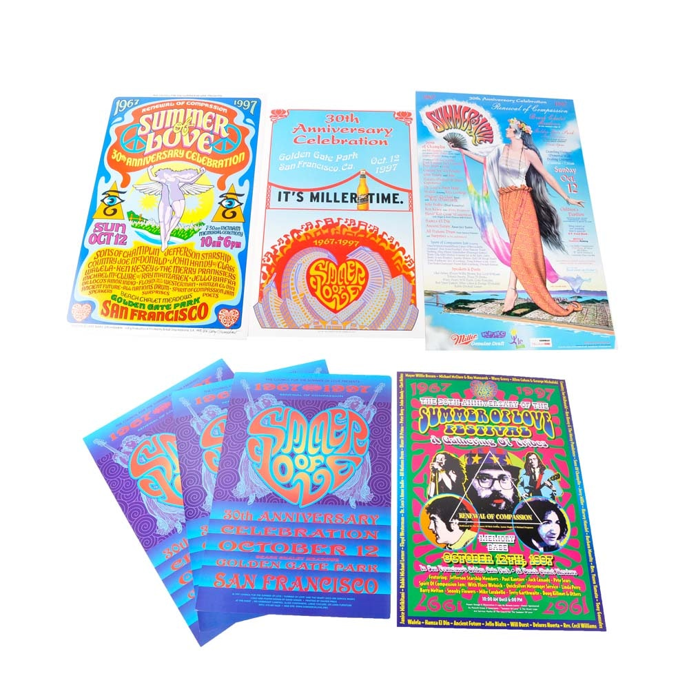 Summer of Love 30th Anniversary Posters