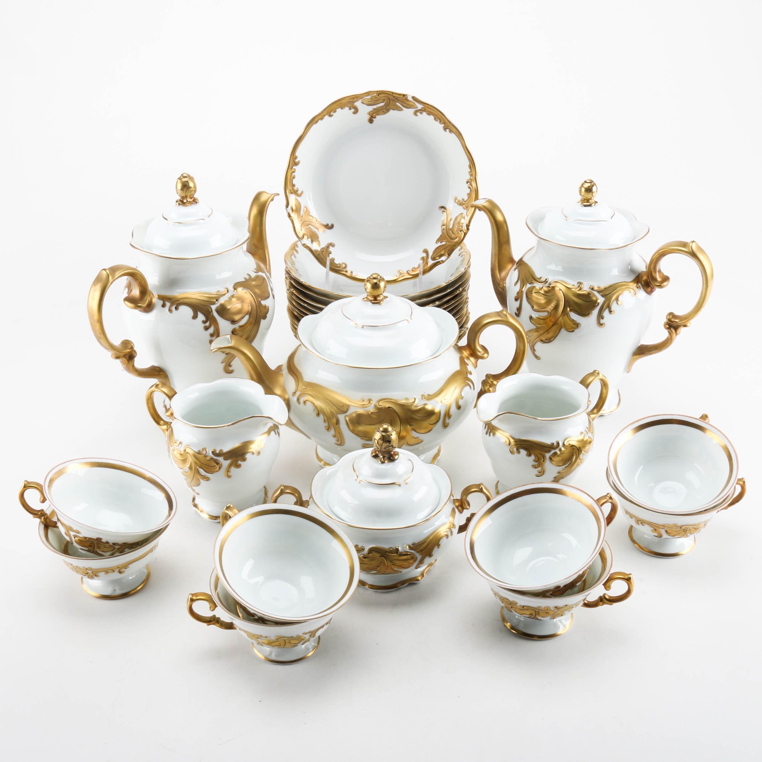 Circa 1950 Polish Porcelain Dinnerware ...  sc 1 st  EBTH.com & Circa 1950 Polish Porcelain Dinnerware : EBTH
