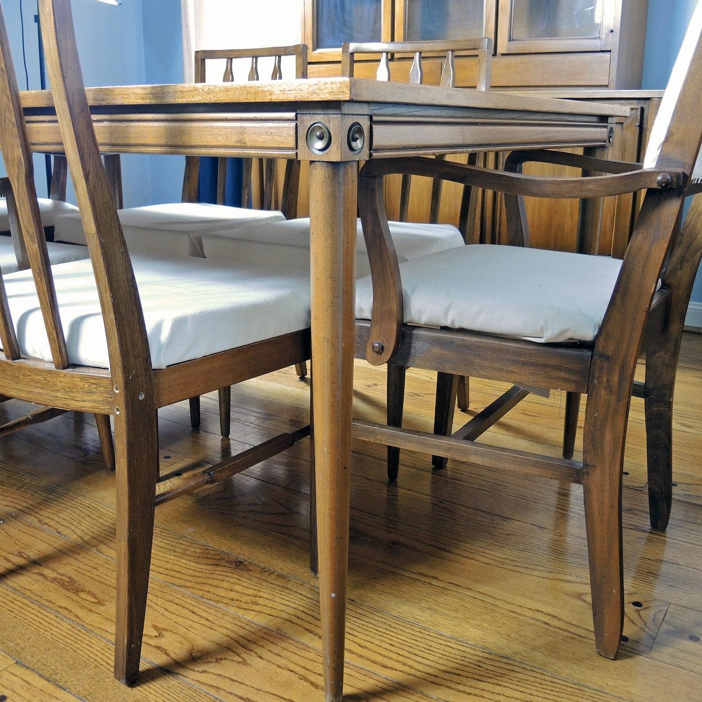 Vintage Basic-Witz Mid-Century Modern Dining Room Set and ...