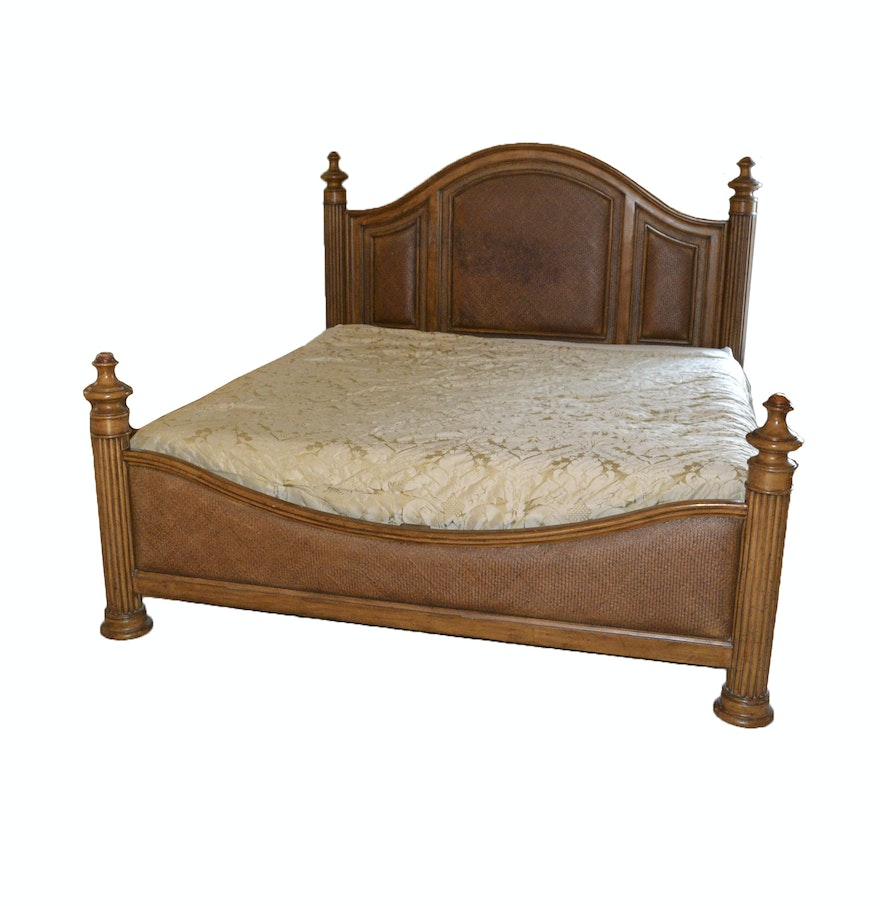 King bed with headboard and footboard ebth for King footboard