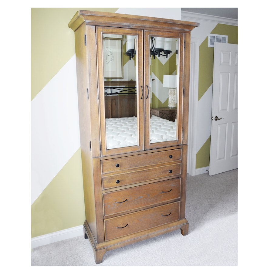 bedroom wardrobe by riverside furniture ebth