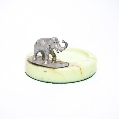 Unique vintage home decor home decor auctions in collectibles home furnishings d cor more Silver elephant home decor