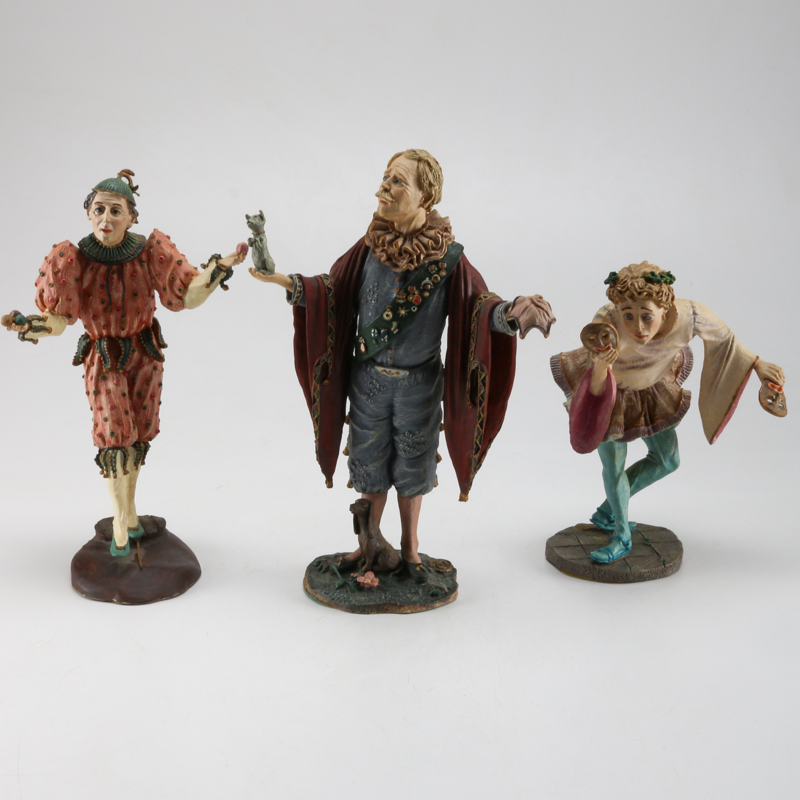Numbered, Collectors Edition Duncan Royale Clown Figurines