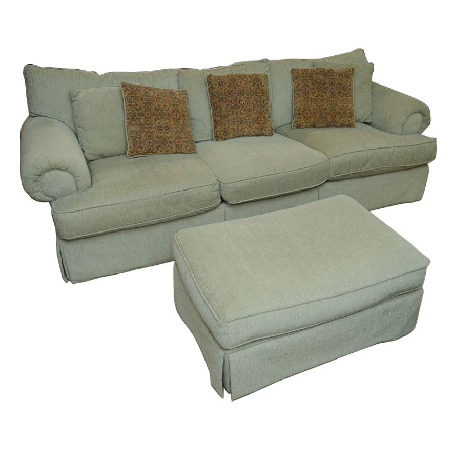 Alan White Sofa  Arm Chair  and Ottoman. Alan White Sofa  Arm Chair  and Ottoman   EBTH