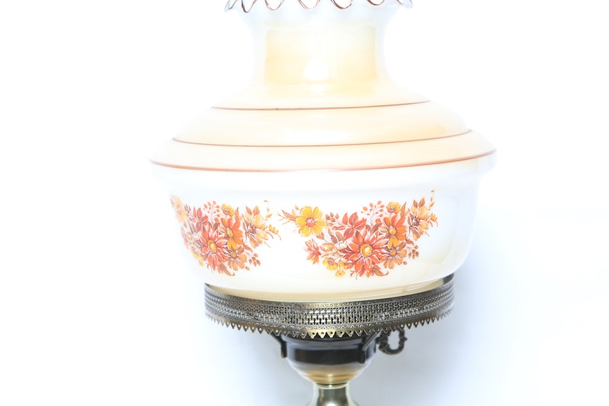 Vintage Hurricane Lamp From Accurate Casting Inc Ebth