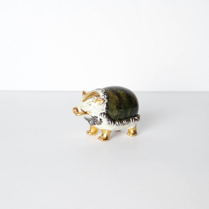 Vintage San Marco Buccellati Porcelain Wild Boar : EBTH