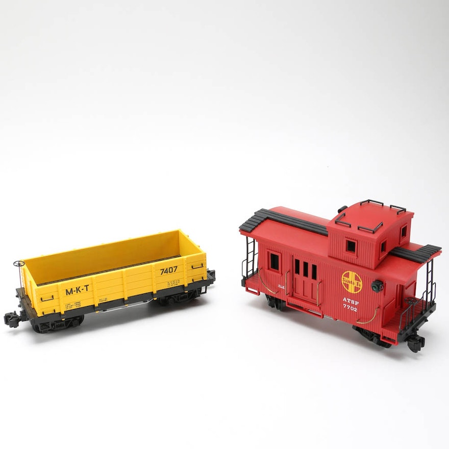 Pair of Large-Scale Lionel Train Cars