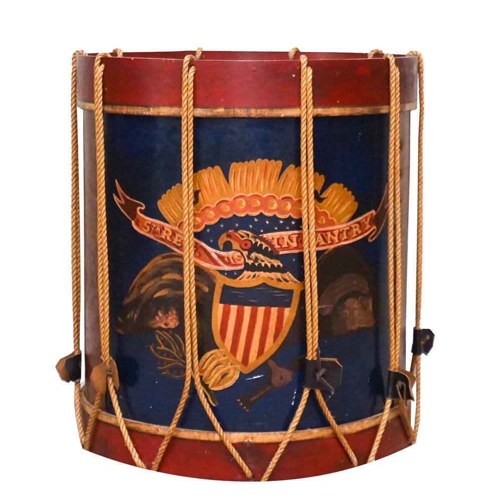 Replica Civil War Field Drum