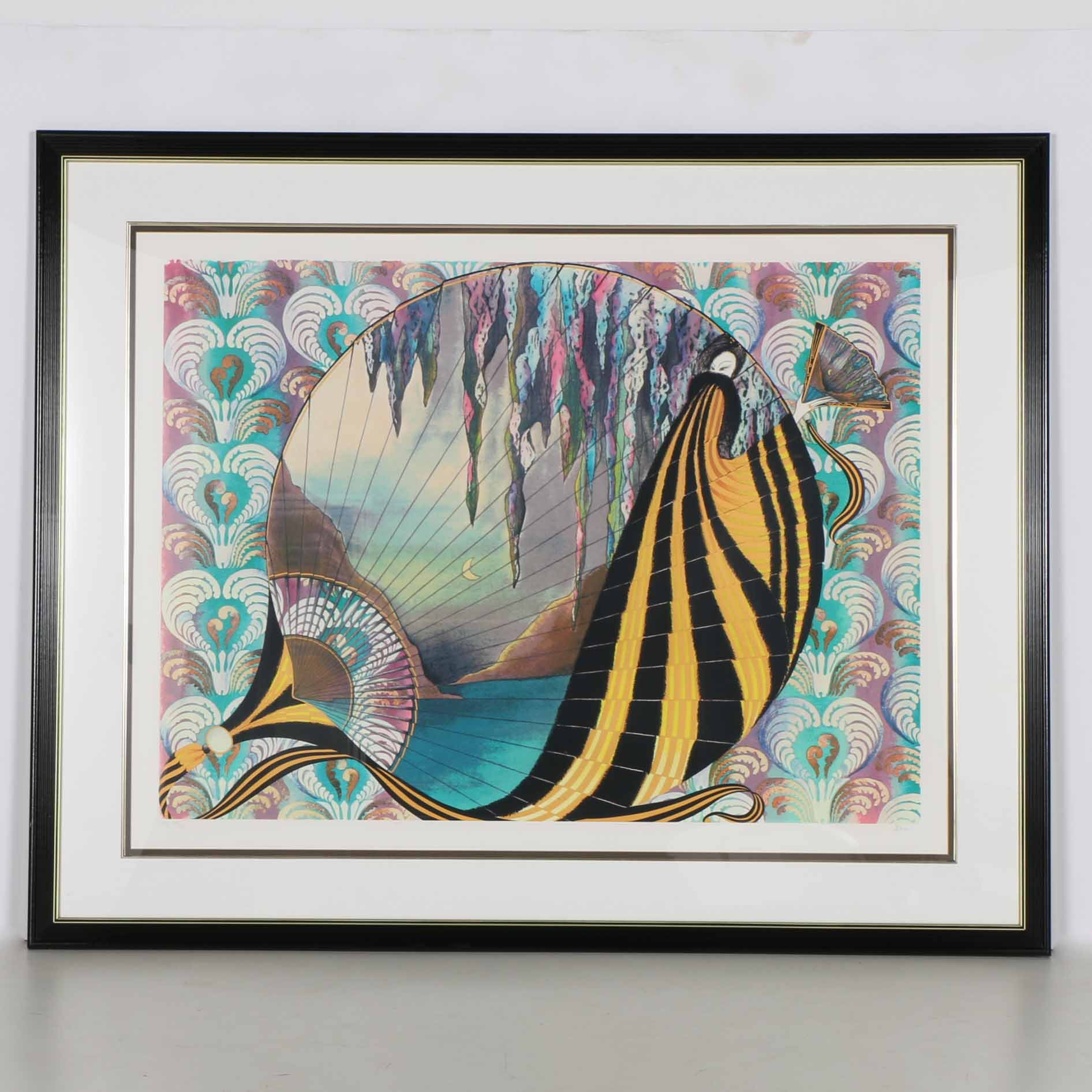 Jean-Francois Bos Limited Edition Artist's Proof Serigraph