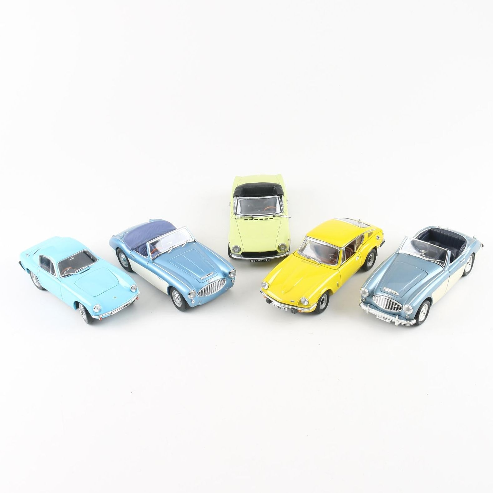 Collection of European Die-Cast Sports Cars