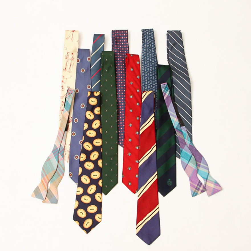 f81d93e065fb Men's Neckties and Bow Ties Including Givenchy and Calvin Klein : EBTH