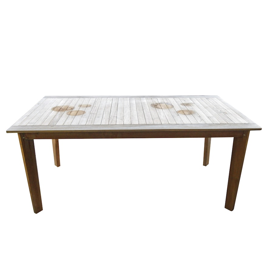 Zuo Modern Nautical Outdoor Dining Table EBTH