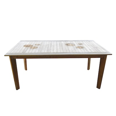 Zuo Modern Nautical Outdoor Dining Table