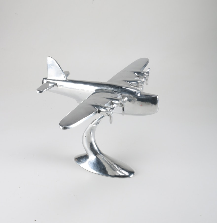 Airplane decor sculpture ebth for Airplane decoration
