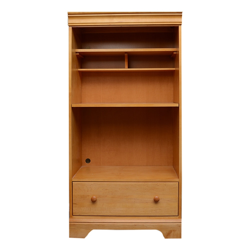 Stanley Furniture Young American Oak Bookcase ...