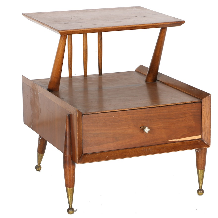 Kent Coffey Mid Century Modern End Table Ebth