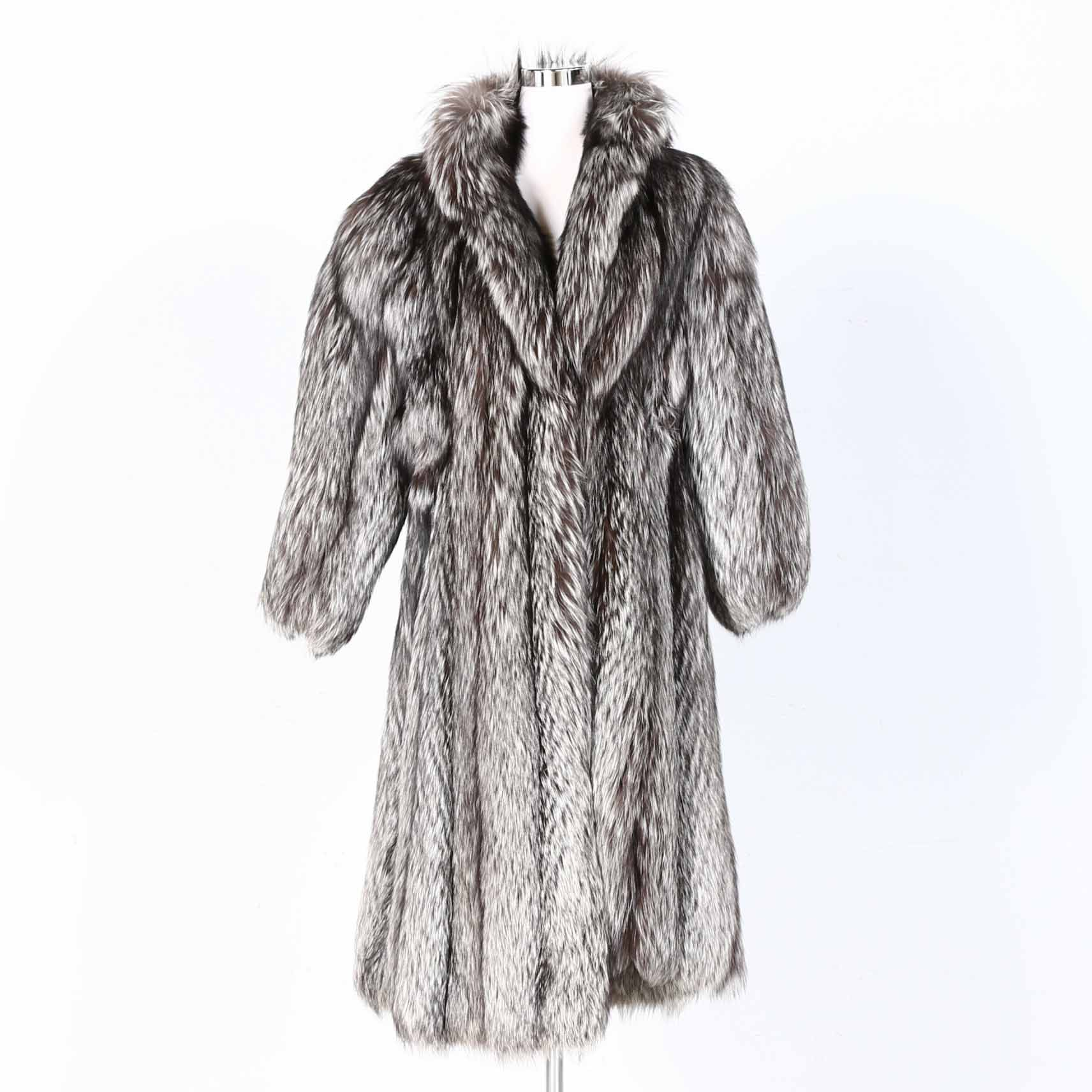 Yves Saint Laurent Fox Fur Coat