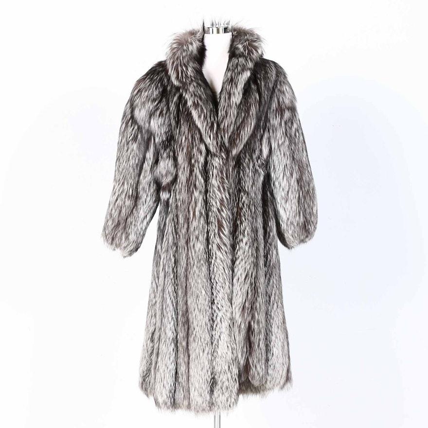 979c86172ef Yves Saint Laurent Fox Fur Coat : EBTH