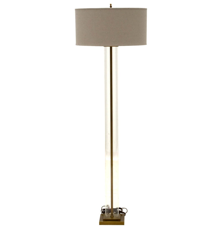 Restoration hardware floor lamp ebth for Restoration hardware floor lamp glass