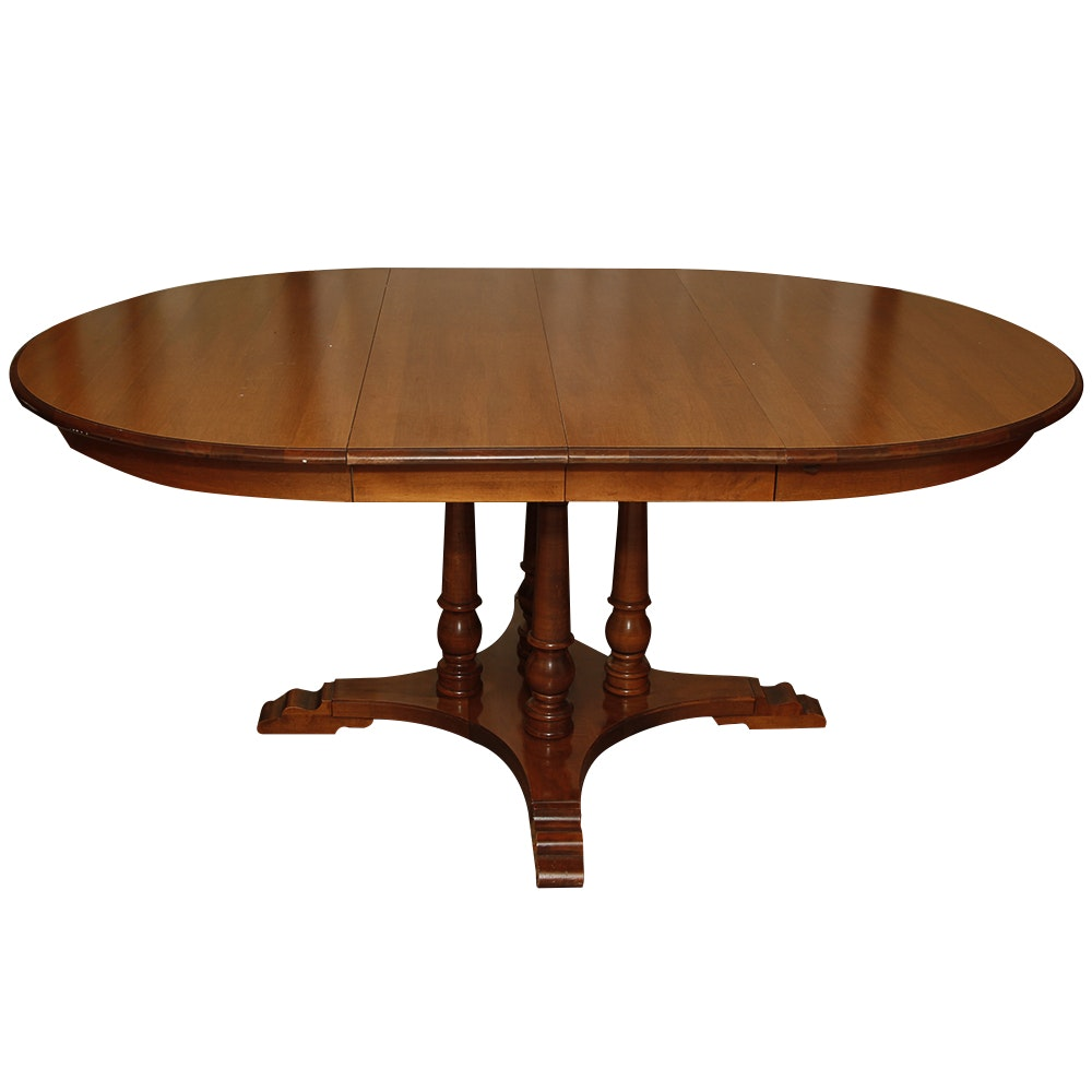 Oval Dining Table by Tell City Chair Co EBTH : MG9890jpgixlibrb 11 from www.ebth.com size 880 x 906 jpeg 50kB