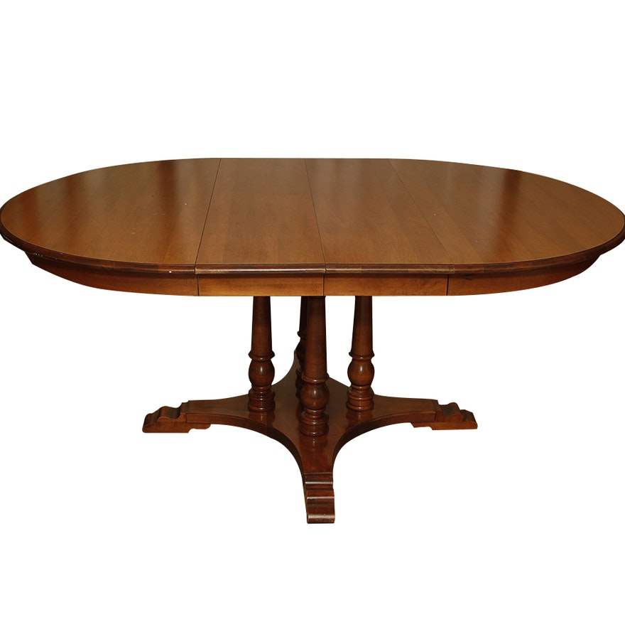 Dining Table Co Oval Dining Table By Tell City Chair Co Ebth