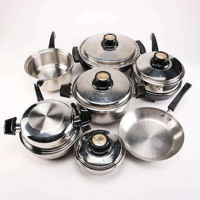 Vintage cookware auctions antique cookware for sale in for Kitchen craft waterless cookware price