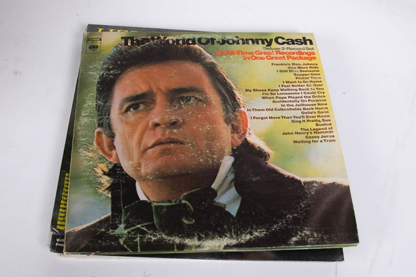 Johnny Cash Lp Collection Ebth