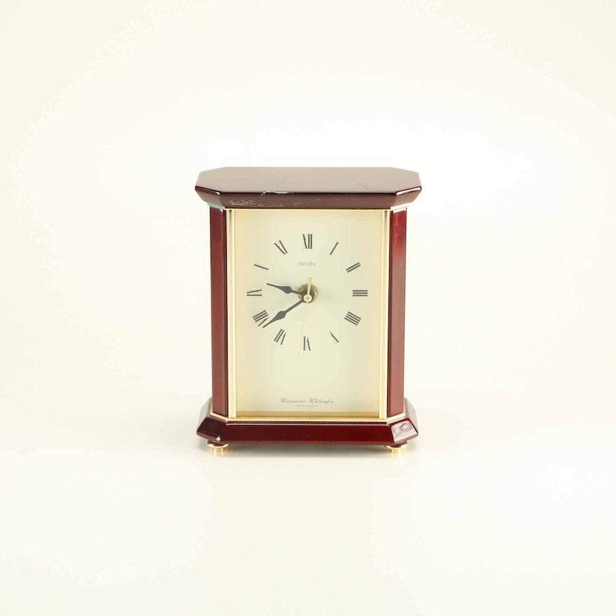 Westminster Whittington Seiko Mantel Clock