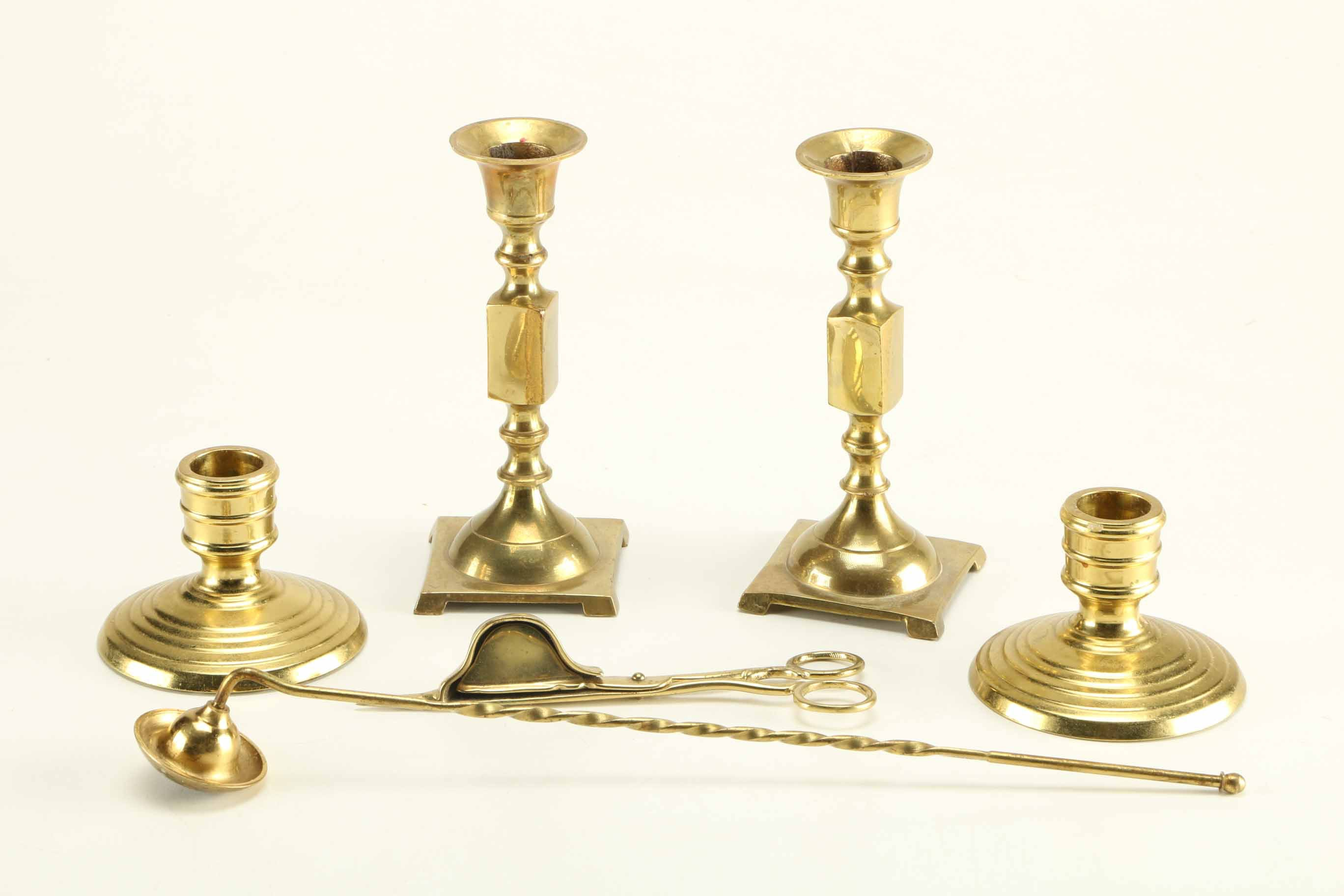 Brass Candle Stick Collection
