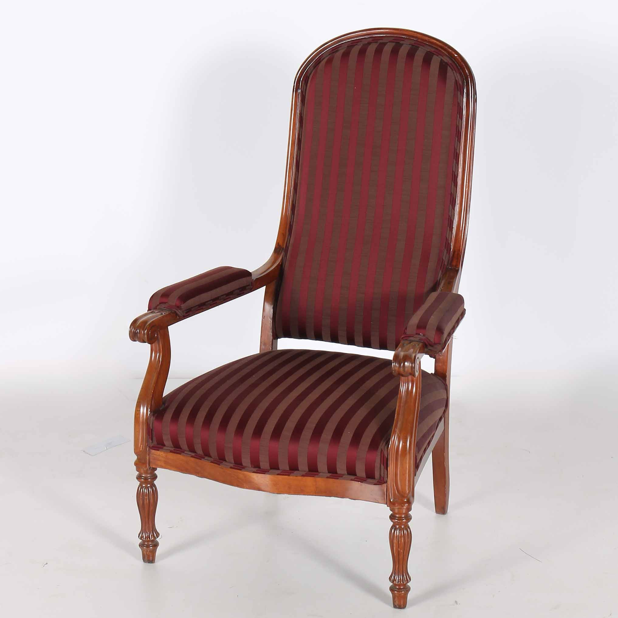 Louis Phillipe Period Arch Back Fauteuil